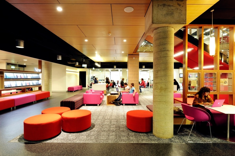 Awesome QUT Library Refurbishment